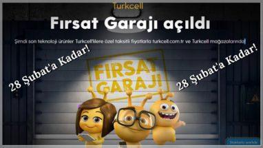 Fırsat Garajı Turkcell Cihaz Kampanyası