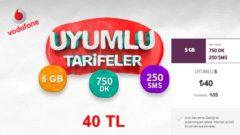 Vodafone Uyumlu 5 GB İnternet Paketi