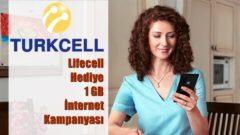 Lifecell Hediye 1 GB İnternet Kampanyası