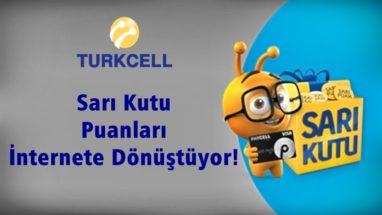 Sarı Kutu Paycell Kart Hediye İnternet Kampanyası