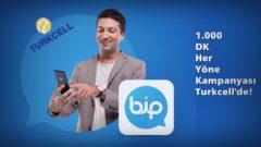 Turkcell Bip Her Yöne 1000 DK Kampanyası