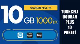 Turkcell 10 GB Bedava İnternet Veren 10 GB Plus Paketi