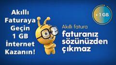 Turkcell İnternetli Limitinde Durma Kampanyası 1GB Hediye