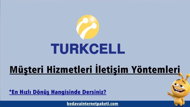 Turkcell Müşteri Hizmetleri Bedava Internet Paketi