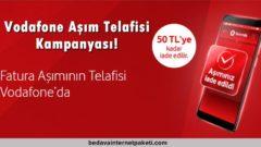 Vodafone Aşım Telafisi Kampanyası